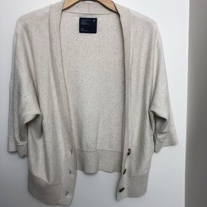 AE 3/4 sleeves cardigan sweater